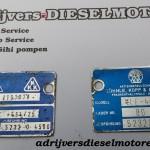 Turbo Plaatje 4LE 454 2x