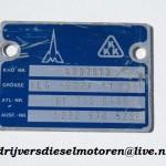 Turbo plaatje 4LG 502K 17.22 M