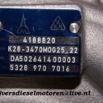 Turbo plaatje K28 7016
