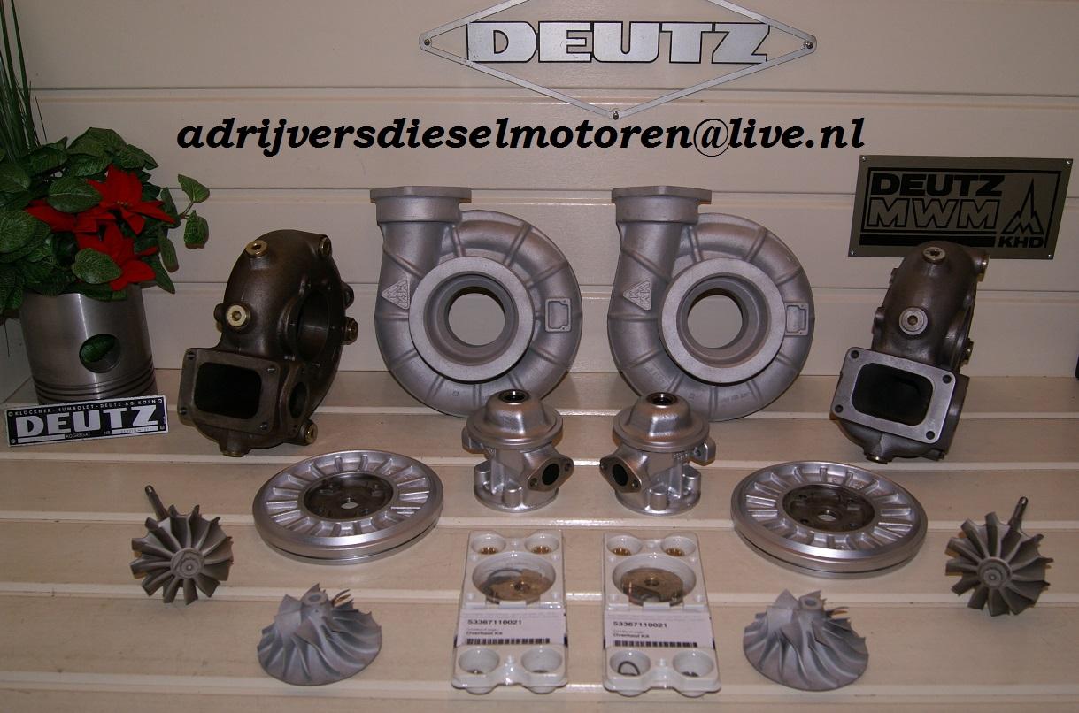 Ongebruikt KKK Turbochargers - Ad Rijvers Diesel EnginesAd Rijvers Dieselmotoren GN-69
